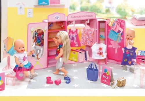 Zapf BABY born® Boutique Taschen & Schuhe Set Kleidung & Accessoires